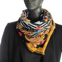 Grand foulard zébré Guess