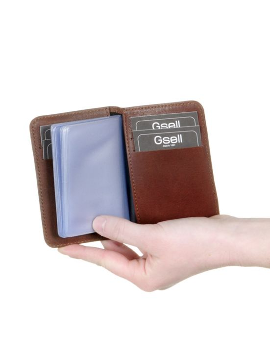 Porte-cartes Cuir Gsell Usual