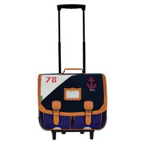 Cartable trolley 41 cm Tann's Marin