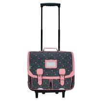 Cartable trolley 41 cm Tann's Chiné Lou