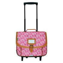 Cartable trolley 38 cm Tann's Rose