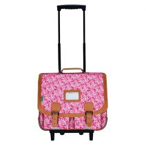 Cartable trolley 41 cm Tann's Rose