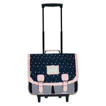 Cartable trolley 41 cm Tann's Jodie
