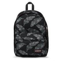 "Sac à dos PC 13"" Eastpak Out Of Office coloris C10 Brize Leaves Black"