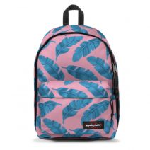 "Sac à dos PC 13"" Eastpak Out Of Office coloris C12 Brize Leaves Pink"