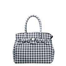 Cabas Save My Bag Miss Plus pied-de-poule