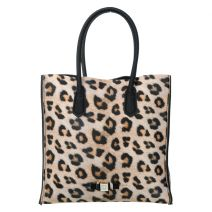 Sac shopping Save My Bag Le Sac léopard