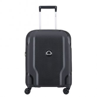 Valise Cabine Delsey Clavel slim noire