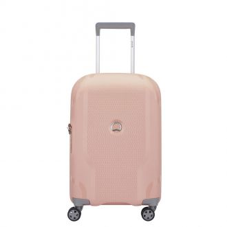 Valise Cabine Delsey Clavel rose extensible 2cm