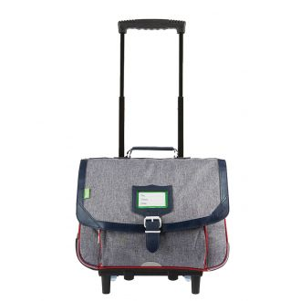 Cartable trolley 38 cm Tann's Chinés