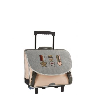 Cartable trolley 38 cm IKKS Urban Lab