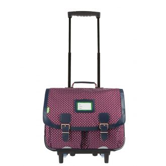 Cartable trolley 41 cm Tann's Miki