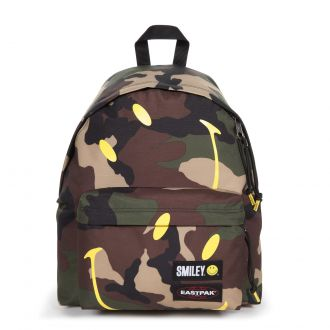 Sac à dos Eastpak Padded Pak'r coloris A93 Smiley Camo