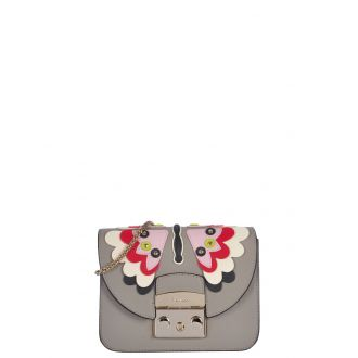 Sac Cuir Furla Mini crossbody Papillon