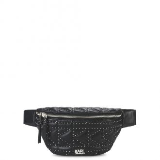 Sac banane clouté Karl Lagerfeld K/Kuilted Studs