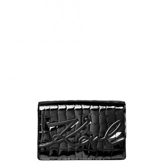 Sac porté travers Karl Lagerfeld (M) K/Signature croco