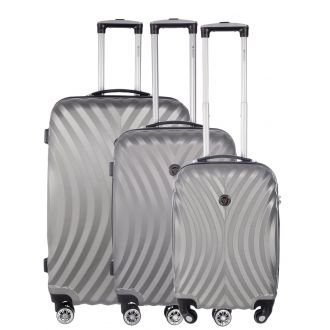 Set de 3 valises Geographical Norway Sheraton