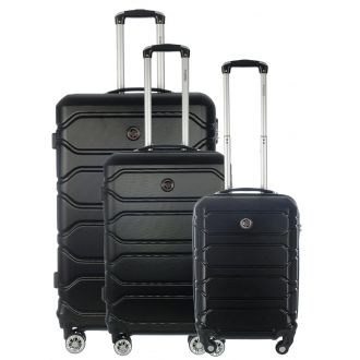 Set de 3 valises Geographical Norway Siroco
