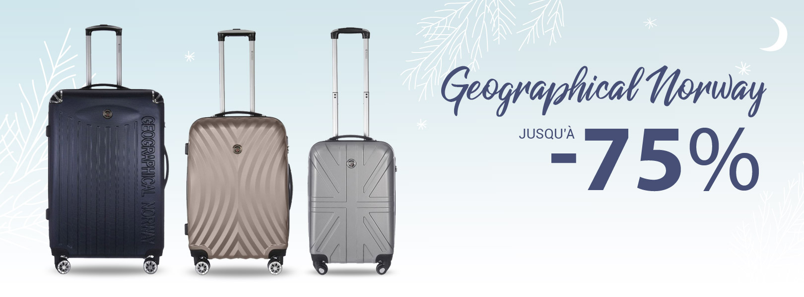 Geographical Norway jusqu'à -75%